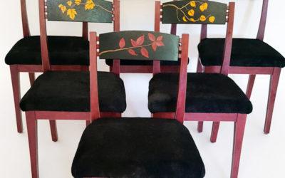 Purple Heart Chairs